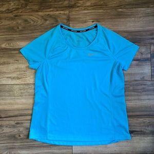 NIKE Running Dri Fit Aqua T Shirt, New!